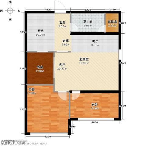 第九频道3室0厅1卫0厨101.00㎡户型图