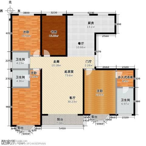 城市维也纳4室0厅3卫0厨186.00㎡户型图