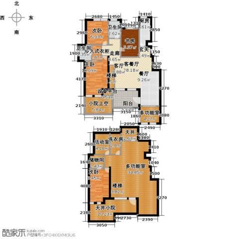 世茂茂悦府4室1厅2卫1厨167.86㎡户型图
