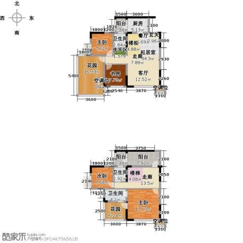 黄河畔岛4室0厅3卫1厨203.00㎡户型图