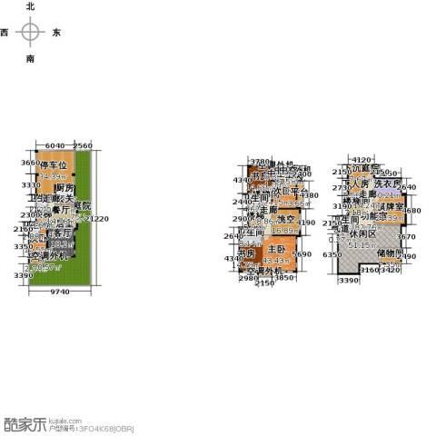 复地澜湾4室0厅5卫1厨433.47㎡户型图