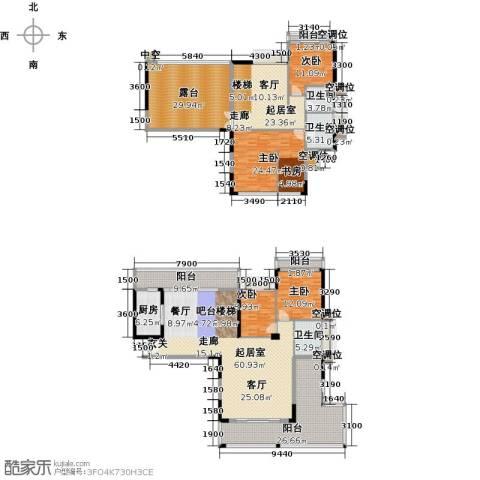 太阳湾4室0厅3卫1厨232.53㎡户型图