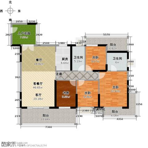 中珠・在水一方4室1厅2卫0厨191.00㎡户型图
