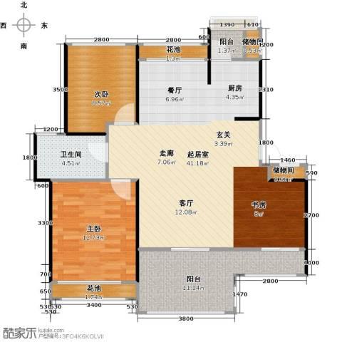 中铁子悦薹2室0厅1卫0厨89.00㎡户型图