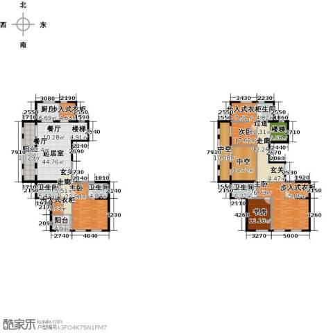 融绿�园4室0厅4卫1厨323.00㎡户型图