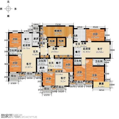 永康水印城7室0厅4卫3厨370.00㎡户型图