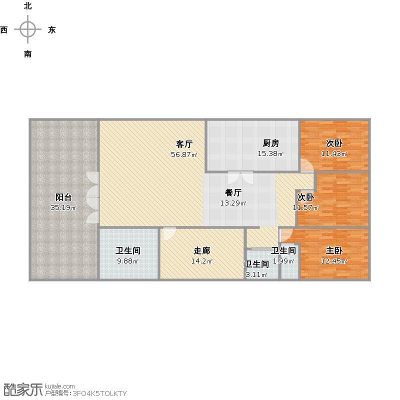 2楼户型图