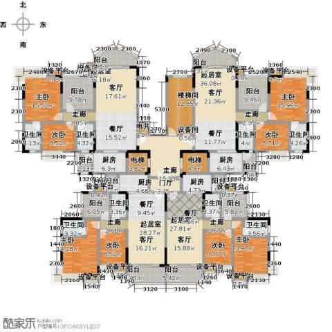 碧桂园常平首府8室0厅8卫4厨561.00㎡户型图