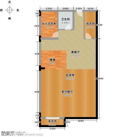 中信凯旋公馆1卫0厨140.00㎡户型图