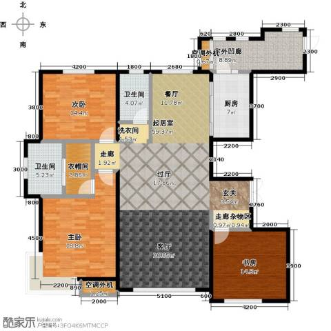 金安向日葵3室0厅2卫1厨186.00㎡户型图