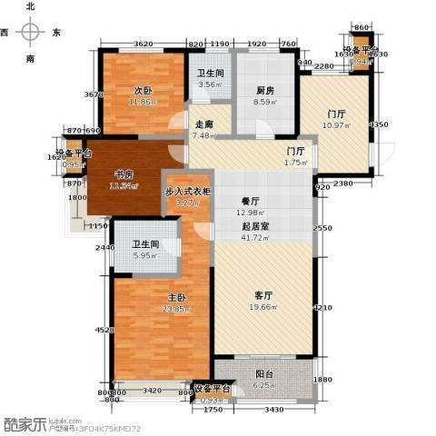 苏宁天�御城3室0厅2卫1厨179.00㎡户型图