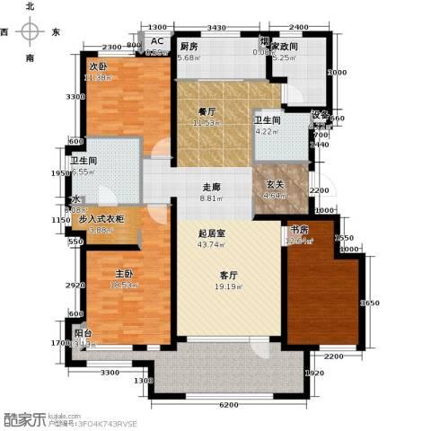 万科温莎堡3室0厅2卫1厨175.00㎡户型图