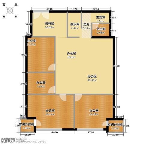 丰臣国际广场1卫0厨130.00㎡户型图