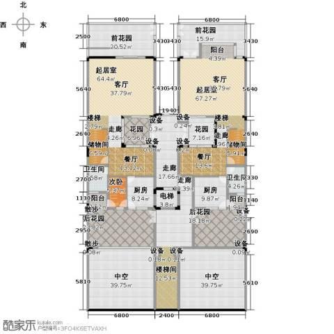 御花苑天逸湾1室0厅2卫2厨553.00㎡户型图