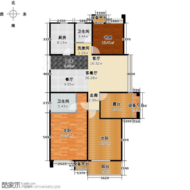 常发豪庭国际128.93㎡三房二厅二卫-128.93平方米-23套户型