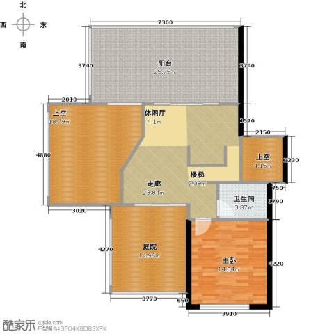 丽景华庭1室0厅1卫0厨200.00㎡户型图