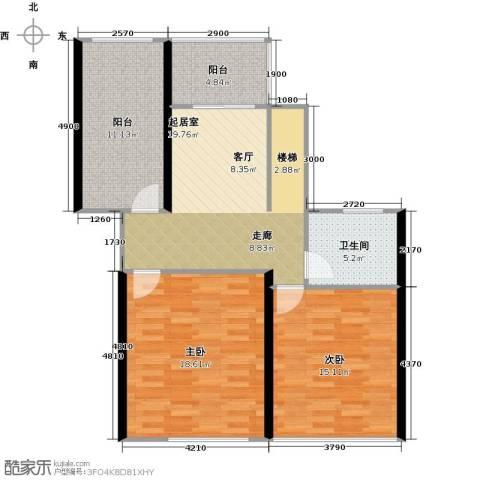 丽景华庭2室0厅1卫0厨200.00㎡户型图