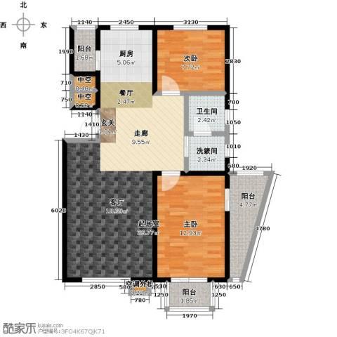 新兴北京郡2室0厅1卫0厨89.00㎡户型图