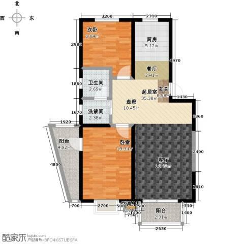 新兴北京郡1室0厅1卫0厨90.00㎡户型图