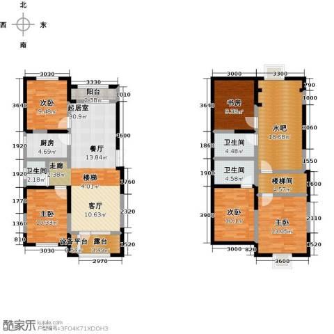 大唐东方盛世5室0厅3卫1厨164.00㎡户型图