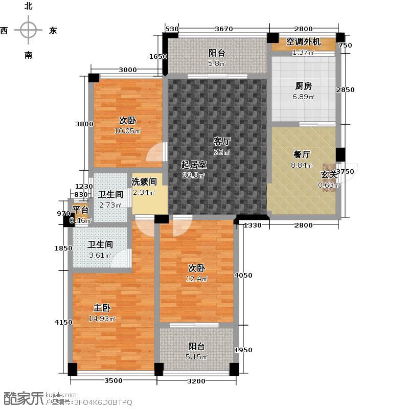 海韵国际城海韵国际城户型10室