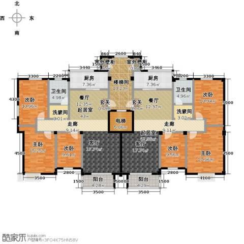 富邦・景润花园6室0厅2卫2厨309.00㎡户型图