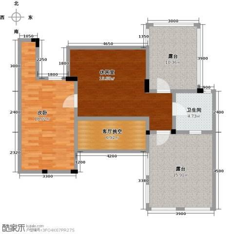 阳光地中海1室0厅1卫0厨107.00㎡户型图