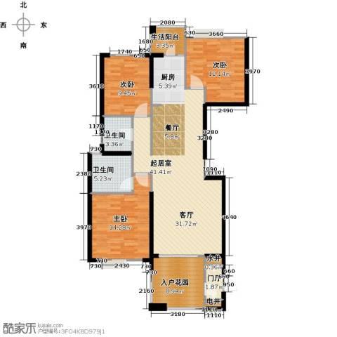 联诚国际城3室0厅2卫0厨135.00㎡户型图