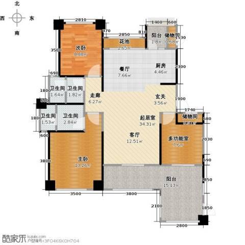 中铁子悦薹2室0厅4卫0厨100.00㎡户型图
