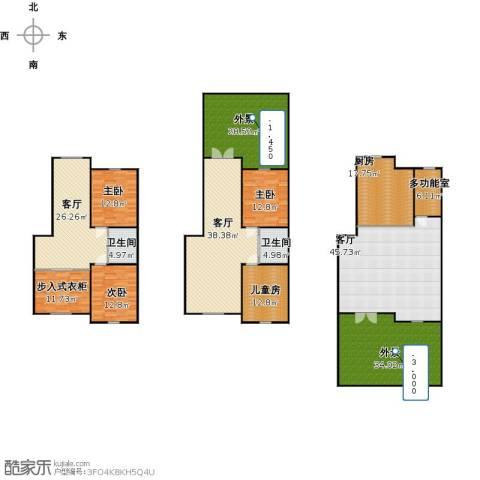 英伦小镇4室3厅2卫1厨353.00㎡户型图
