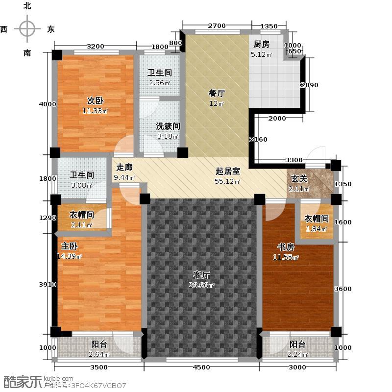 枫丹丽舍135.00㎡枫丹丽舍135.00㎡户型10室
