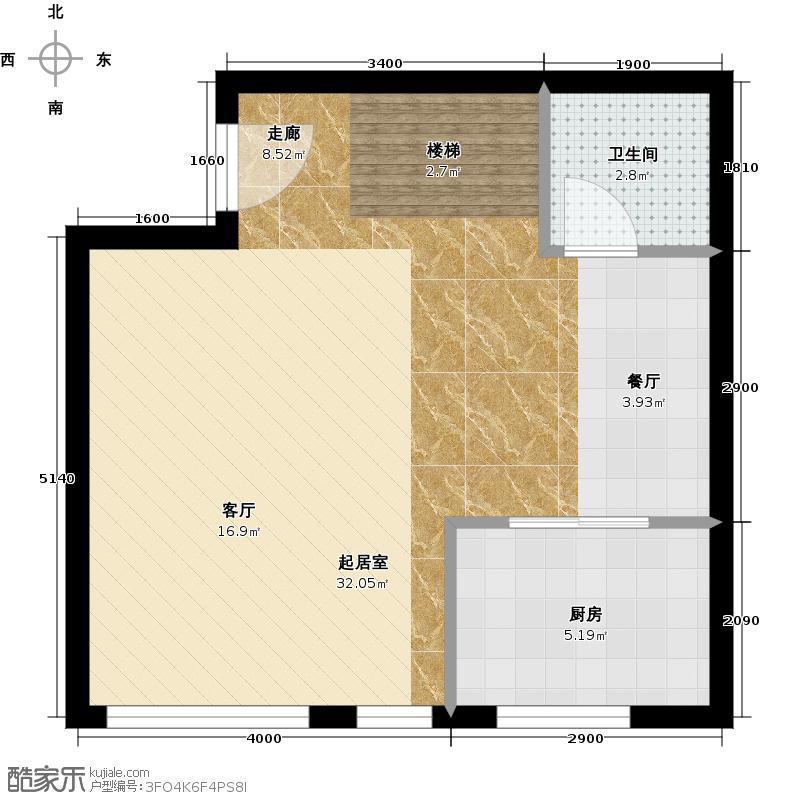 林肯公寓G首层平面户型