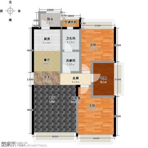 连海金源3室0厅1卫0厨111.00㎡户型图