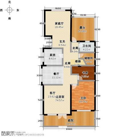 滨海湖2室0厅1卫1厨152.39㎡户型图