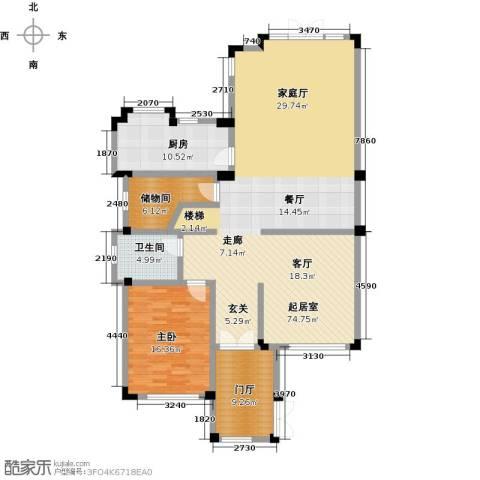 滨海湖1室0厅1卫1厨172.00㎡户型图