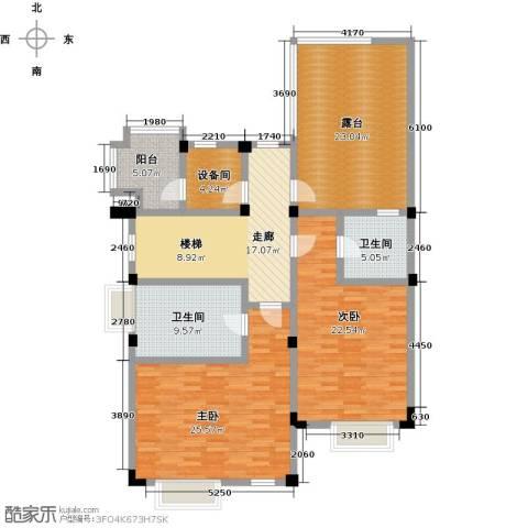 滨海湖2室0厅2卫0厨160.00㎡户型图