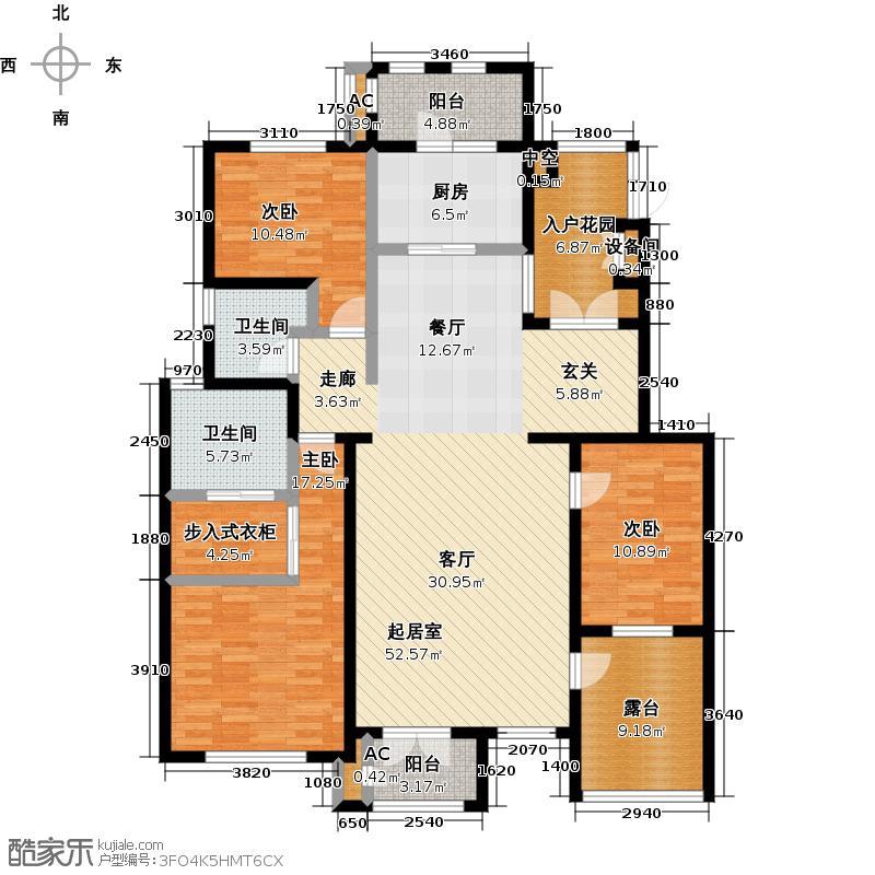 万通生态城新新家园万通生态城新新家园3室2厅2卫户型3室2厅2卫