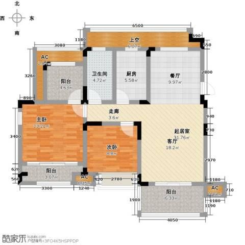 心泊馨城2室0厅1卫1厨102.00㎡户型图