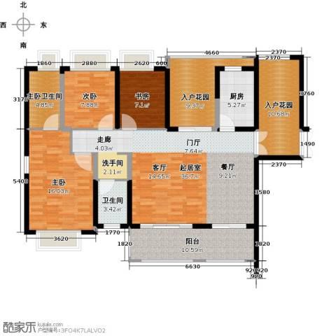 海景城3室0厅1卫1厨131.00㎡户型图