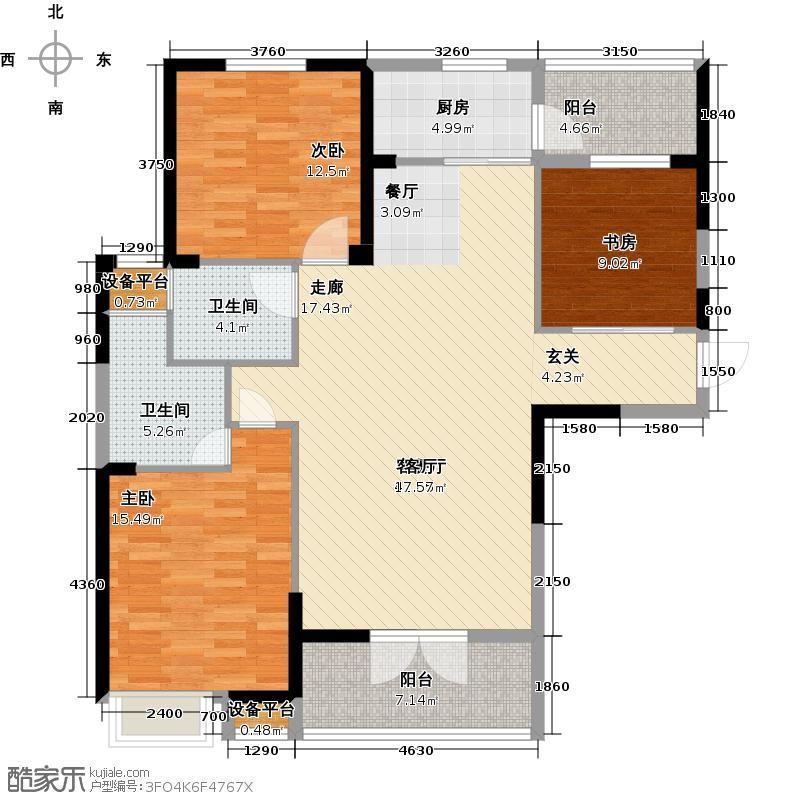 南德国际城4号楼 C4户型