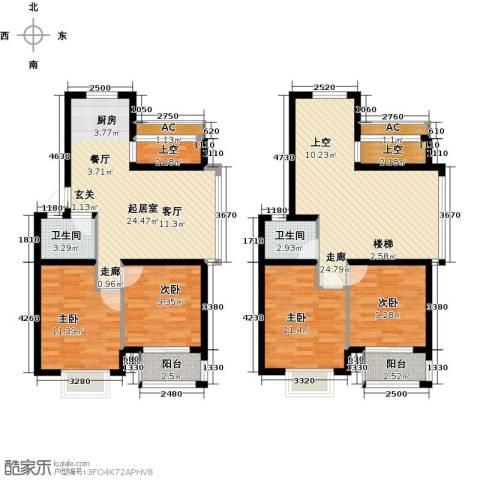 世纪绿城4室0厅2卫0厨126.00㎡户型图