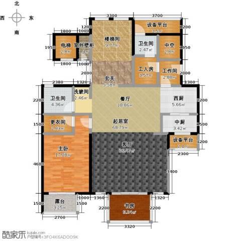 金隅乐府2室0厅2卫0厨181.00㎡户型图