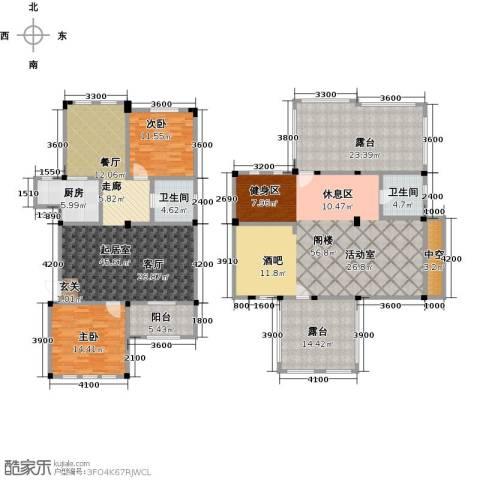 阳光地中海2室0厅2卫1厨263.00㎡户型图