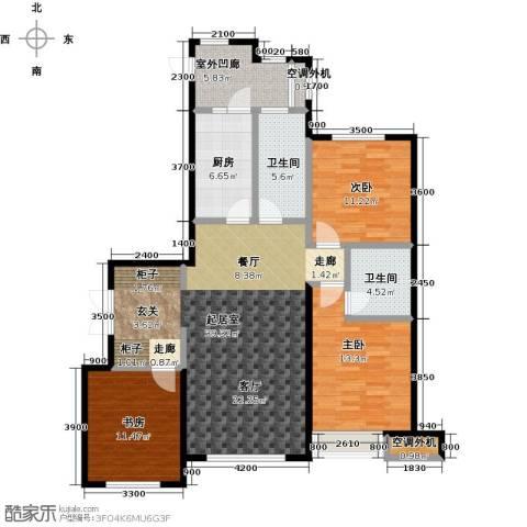 金安向日葵3室0厅2卫1厨141.00㎡户型图