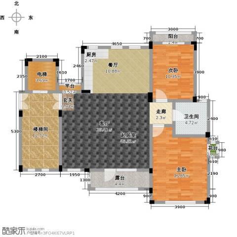 阳光地中海2室0厅1卫0厨141.00㎡户型图