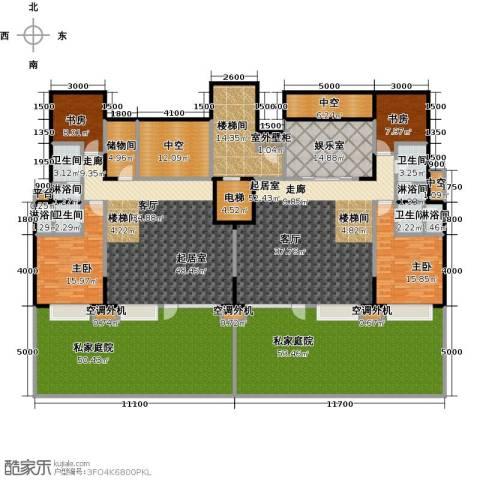 华发新城4室0厅4卫0厨457.00㎡户型图