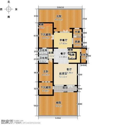 科达府左华苑1室0厅2卫0厨238.19㎡户型图