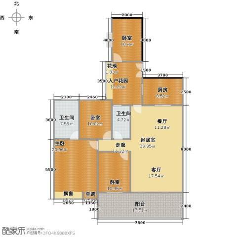 广弘天琪1室0厅2卫1厨190.00㎡户型图