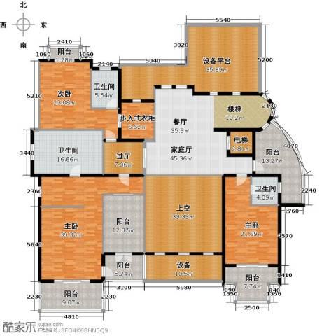 中信森林湖二期琥珀洲3室0厅3卫0厨421.00㎡户型图