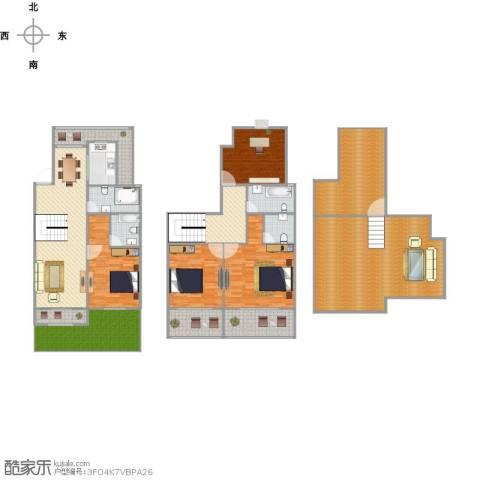 阳光龙庭别墅4室2厅4卫1厨263.00㎡户型图